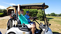 Bart on golf cart.jpg Image