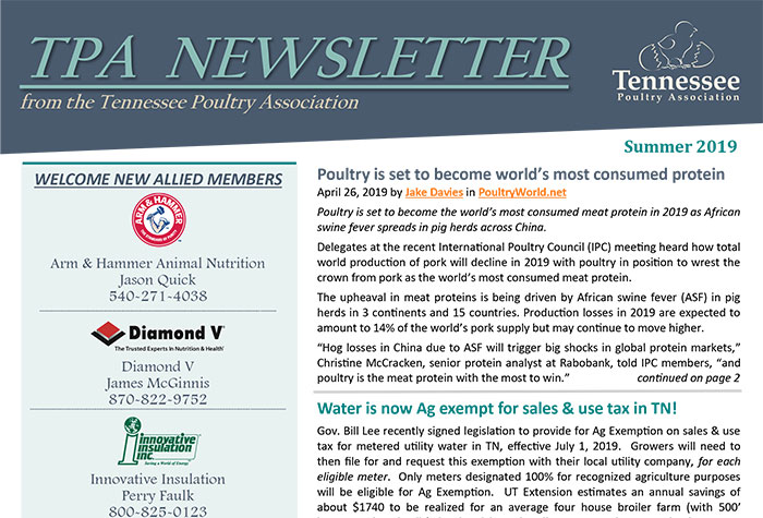 Newsletter Cover Image